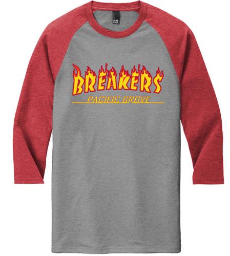 Breakers Flame Raglan Style Jersey