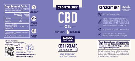 cbdistillery cbd oil 8mg
