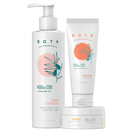Nourishing Gift Set - All-Day Body Lotion , Age-Defying Hand Lotion, & Muscle Melt