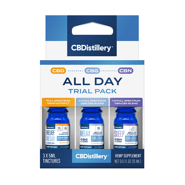 CBD All Day Trial Pack