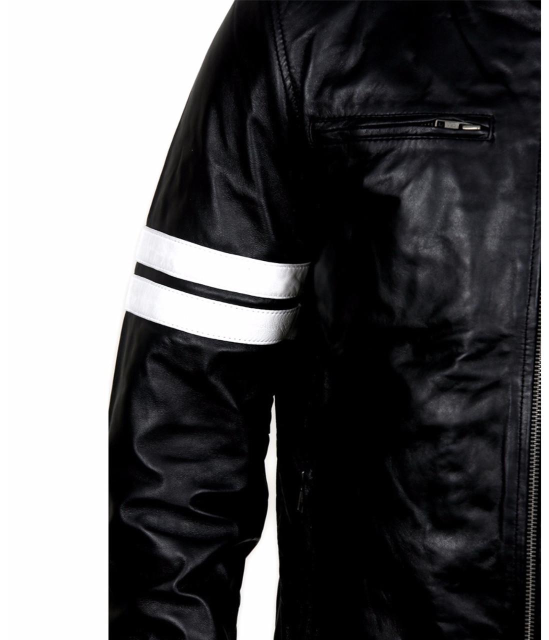 Driver San Francisco John Tanner Black Biker Slim Fit Rider Gaming Jacket