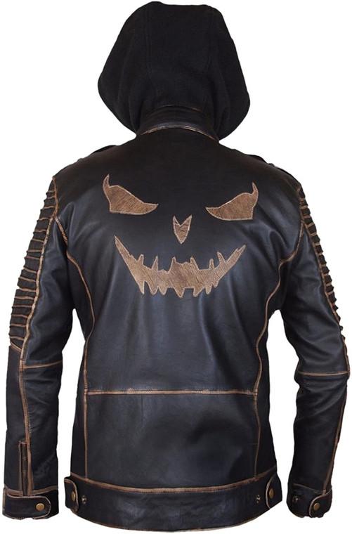 Suicide Squad Jared Leto Joker Killing Hooded Jacket 1