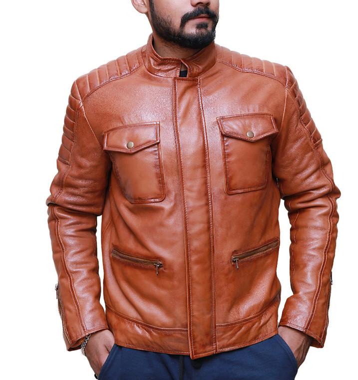 Boss-Level-Leather-jacket-frank-grillio-front