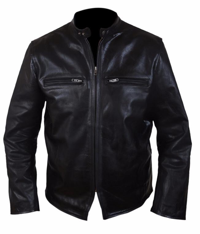 Burnt Bradley Cooper Adam Jones Leather Jacket 1