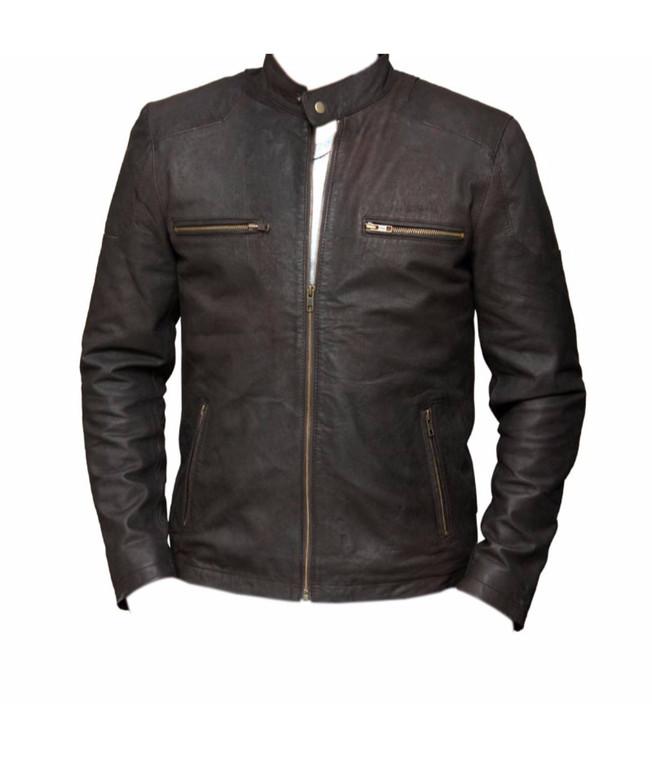 Captain America Civil War Steve Rogers Brown Leather Jacket 1