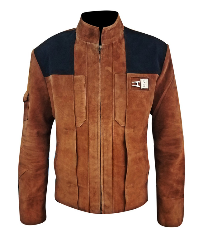 Solo A Star Wars Story Genuine Suede Leather Jacket1