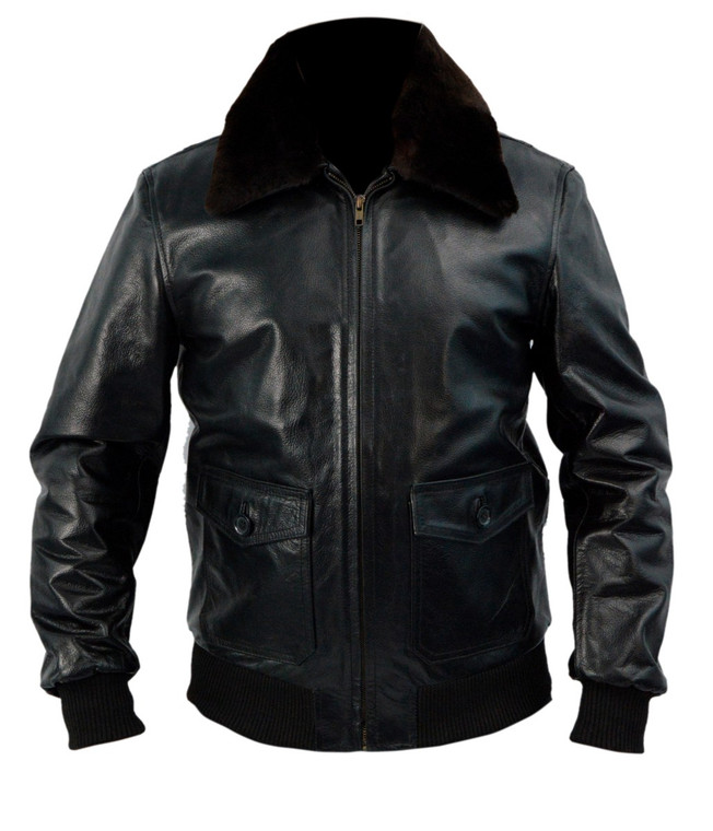 The Expendables 3 Arnold Schwarzenegger Leather Jacket Black