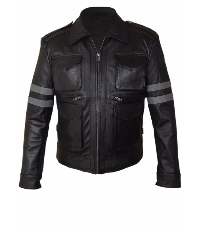LEON Resident Evil 6 Faux Leather Jacket 1