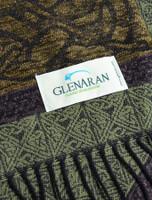 GlenAran Celtic Dogs Pattern Scarf