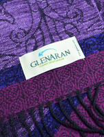 GlenAran Celtic Birds Pattern Scarf