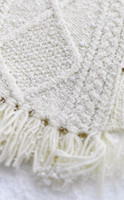 Pattern Detail from Children's Merino Wool Scarf