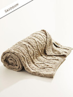 Diamond Aran Throw - Skiddaw