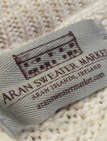 Aran Sweater Market Label