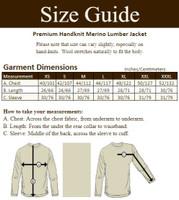 Premium Handknit Merino Lumber Jacket