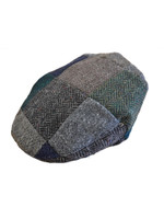 Children's Tweed Flat Cap - Patchwork