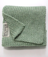 Children's New Wool Scarf - Mint