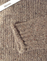 Pattern Detail of Roll Neck Sweater - Fisherman Sweater