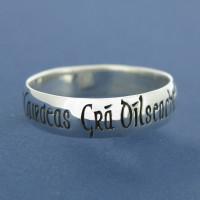 Sterling Silver Irish Ring - Gents