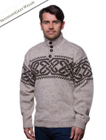 Celtic Troyer Sweater - Skiddaw/Grey Welsh