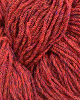 Aran Wool Knitting Hanks - Raspberry Fleck