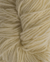 Aran Wool Knitting Hanks - Organic White