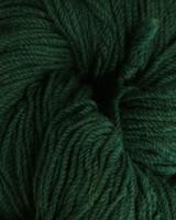 Aran Wool Knitting Hanks - Bottle Green