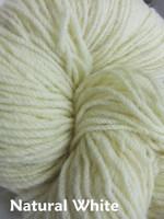 Aran Wool Knitting Hanks - Natural White