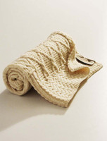 Merino Wool Patchwork Baby Throw