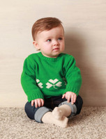 Baby/Toddler Crew Neck Sweater with Buttons