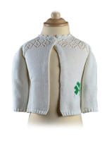 Baby/Toddler Two Button Cardigan - Natural White