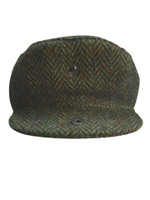 Tweed Flat Cap - Green