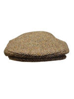 Tweed Flat Cap - Brown