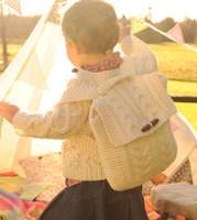 Kids Aran Satchel Bag