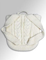 Back Detail From Kids Aran Satchel Bag