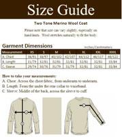Two Tone Merino Wool Coat