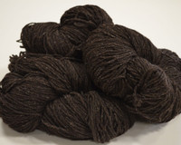 Aran Wool Knitting Hanks - Dark Jacob