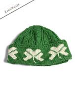 Merino Wool Shamrock Hat - Green