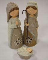 Aran Nativity Set - Large