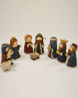 Aran Nativity Set - Color