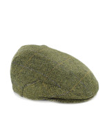 Trinity Tweed Flat Cap - Green