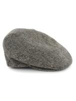 Trinity Tweed Flat Cap - Grey