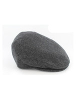 Trinity Flat Cap - Charcoal Grey