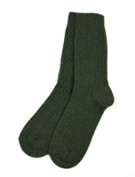 Connemara Merino Wool Walking Socks - Green