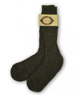 Wool Socks - Army Green