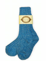 Wool Socks - Light Blue