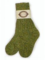 Wool Socks - Green