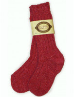 Wool Socks - Red