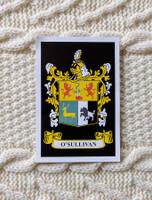 O'Sullivan Clan Aran Throw