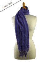 Striped Scarf - Lavender