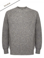 Plain Crew Neck Sweater - Storm